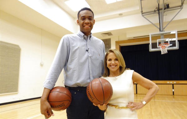 Ballislife | Jabari Parker's Good Morning America Interview with Katie Couric