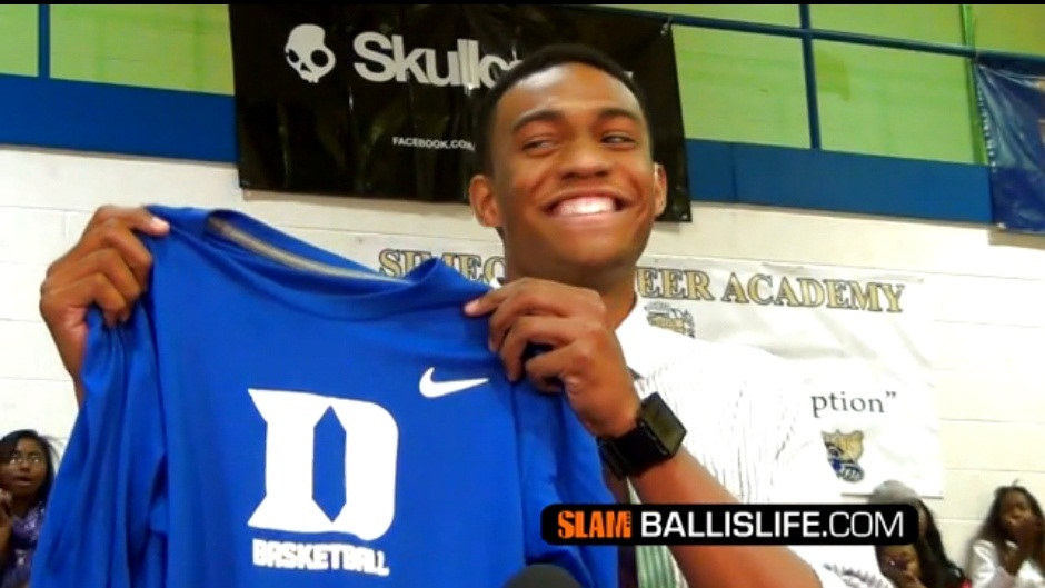 Ballislife | Jabari Parker announces his college decision