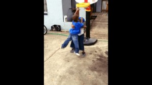 Ballislife | 3 Year Old Dunks All Over Another 3 Year Old