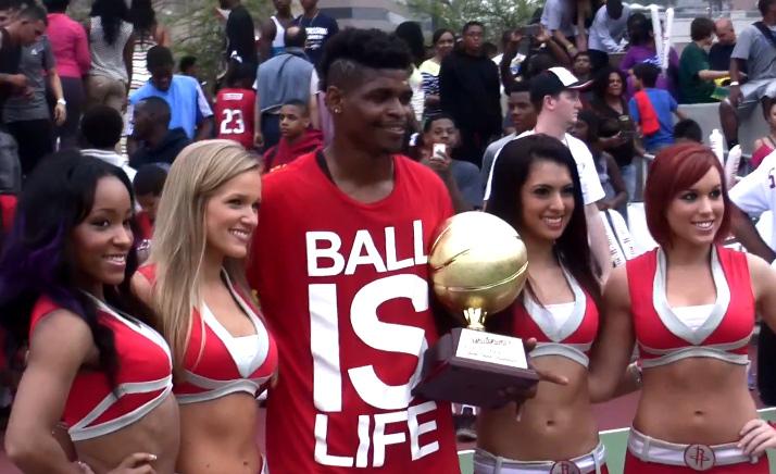 Ballislife | Sir Isaac with Cheerleaders