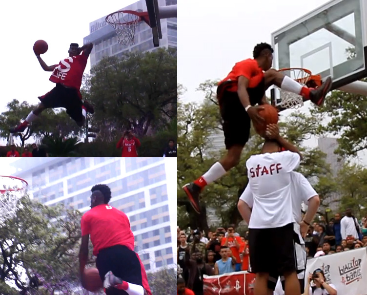 Ballislife | Sir Isaac takes over Houston Rockets Show