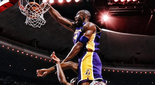 Stanley Beck Wallpapers SICK Graphic of The Day Kobe Bryant Dunking On Dwight Howard Playing
