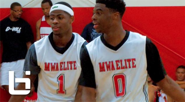 Ballislife | Malik Newman & Emmanuel Mudiay