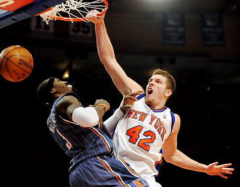 Ballislife | David Lee New York Knicks Dunk