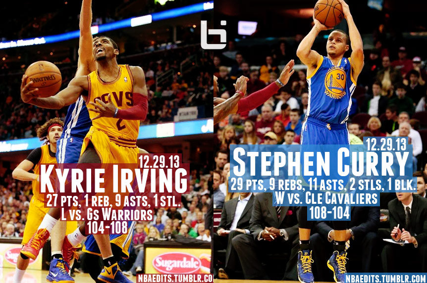 Kyrie Irving vs Stephen Curry in OT Thriller