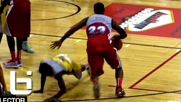 Bone Collector Puts Defender On SKATES But Ball Up Loses in Final Game!