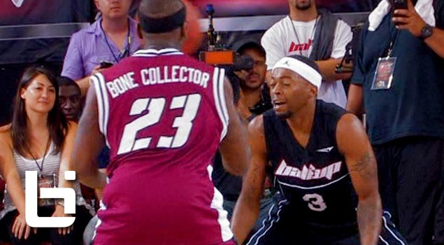 Larry Williams AKA the Bone Collector is the Most Dangerous Streetball Player in the World