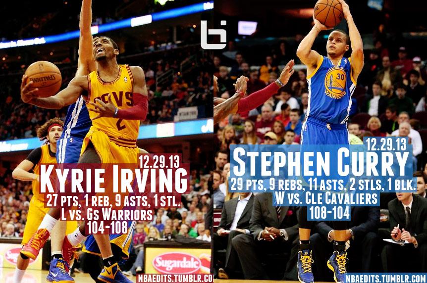 Kyrie Irving vs Stephen Curry in OT Thriller
