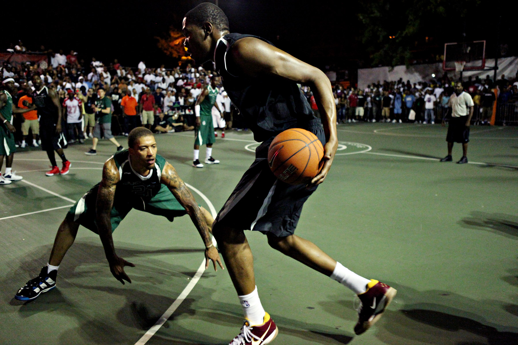 History of Dyckman Basketball Tournament + Best of Durant ...